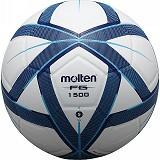 MOLTEN Bola Futsal #4 Size 4 - White Navy Cyan